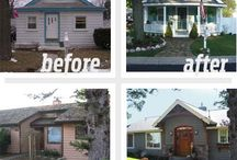 Curb appeal / House exterior ideas / by Anita C