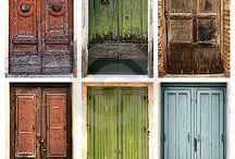 portas antigas / by anderson paes