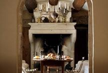 Fireplaces / by Carolyn Garvie