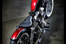 Harleys and other sweet bikes  / by Todd Worsley