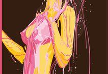 illustration / by >^v<