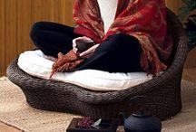 Meditation room ideas!  / by Robyn Grogitsky