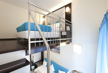 Split Level Rooms / by Sorrento Flats