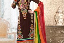 Punjabi Suits / by Neelu Mann