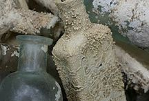 bottles glass jars / by beachcomber