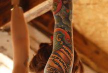 Tattoos  / by Krystal Hazen McCreary