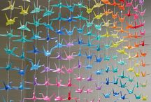 Origami cranes and other Paper Works / by Melayla O