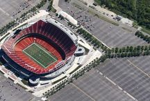 NFL Stadiums - Aerial Views / Arrowhead Stadium,Bank of America Stadium, Candlestick Park, CenturyLink Field, Cleveland Browns Stadium, Cowboys Stadium, Edward Jones Dome, EverBank Field, FedExField, Ford Field, Georgia Dome, Gillette Stadium, Heinz Field, Hubert H. Humphrey Metrodome, Lambeau Field, Lincoln Financial Field, LP Field, Lucas Oil Stadium, M&T Bank Stadium, Mercedes-Benz Superdome, MetLife , Reliant Stadium, Soldier Field, Mile High, Sun Life Stadium  / by Diamondblades4us™ - A Cut In The Right Direction
