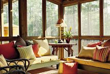 Covered porch ideas / by Hillary Kopriva