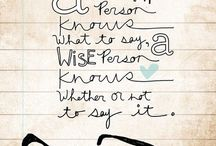 Words to Live By / It's how I want to be treated. It's easy. Kindness. / by Katy Yocom-Yenawine