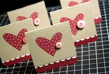 valentine day cards / by Donna