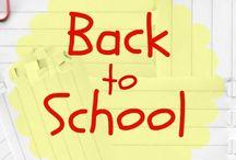 Back to School Ideas / by Malia {Playdough to Plato}