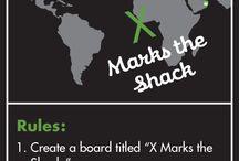 X Marks the Shack / by Irina K