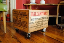 crates. boxes. pallets. / creations. / by Molly Hayes