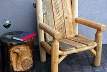 Log Cabins & Log Furniture / by Darla Beckley