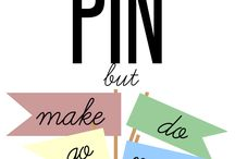 Pinspiration / I hope to create a Completed Pinterest Projects board sooner than later ! (; / by cнυℓα ραℓνιη