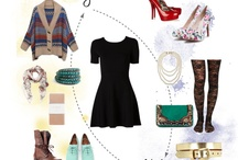 Fashion: Polyvore Outfits / Outfits and collages put together by me using Polyvore / by Kathleen Ellis