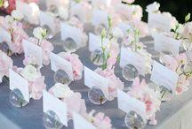 Wedding Settings, Escort Cards / by Andrea Cabrera