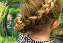 Braids / Hair ideas for my little girl.... / by Ashley @ A Crafty House