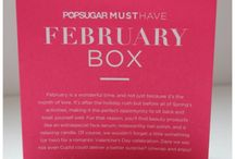 PopSugar: February 2014 Must Have box / My Must Have February 2014 box contents. http://www.zadidoll.com/2014/02/popsugar-must-haves-my-thoughts-on.html / by Zadidoll