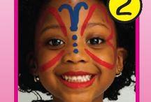 Easy Face Painting  / by Katherine Melendez-Sierra