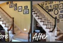 Stairs/Staining Project Helps / by Kris Turnbull Shade