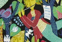 Illustration, pattern, fabric  / by Folk Dance