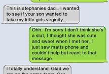 Funny Texts - needed their own board / by Carole Hayes