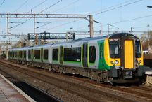 Trains - Class 350 / by London Midland