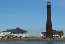 """Lighthouses /        """"We are told to let our light shine, and if it does, we won't need to tell anybody it does. Lighthouses don't fire cannons to call attention to their shining- they just shine."""" - Dwight L. Moody  / by Curtis Lowrey"""
