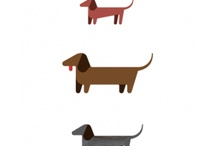 Weinee Dogs / We have two dachshunds at our house, they are the best doggies in the world.  / by Kim Rice
