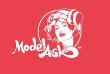 ModelAsk Logo Brand / by ModelAsk