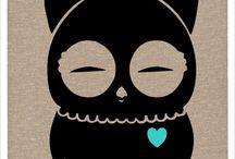 Owls ♥ / by Crystal Gail