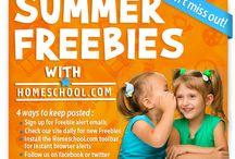 Summer Freebies 2014 / by Homeschool.com
