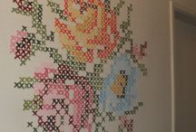Cross stitch / by Stephani Chandler