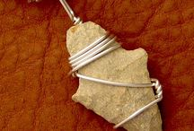 Wire wrapped jewelry / by Pam Wade