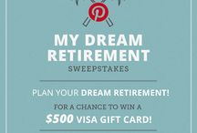 My Dream Retirement  / I hope to be able to do all these things / by Dawn May-Bradley