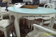 Furniture Makeovers and Repairs / by Janice Ditzler