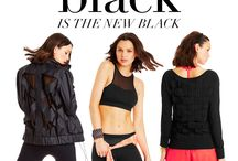 BACK TO BLACK / Sophisticated & sleek, these styles will seamlessly take you from studio to street. / by Lorna Jane