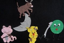 Storytime Props for Teachers, Librarians & Caregivers! / Educational storytelling props for all ages.  / by Leslie Stair