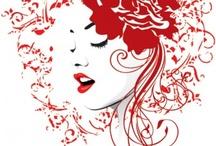 Girl Vector / by VectorsPedia.com Site