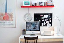 Office ideas / by Emma Will