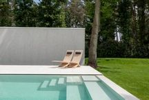 Pool and Pool Deck Inspiration / Pool and pool deck inspiration for modern pool design. / by Murdock Solon Architects