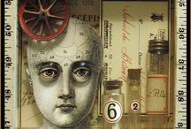 Art - Assemblage, Mixed Media / by Lisa LoPiccolo