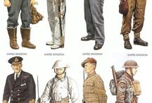 Military Uniforms / by Peg Price