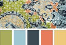 Color Combinations / by Teresa Reddick