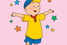 caillou cake picture options / by Melissa Mang Harris