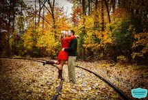 Engagement and wedding photo ideas / by Cortney Debski