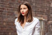 Joanna is cutting her hair / by Joanna Ballentine