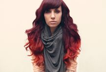 .strands. / hair color inspiration / by Jana Tiede